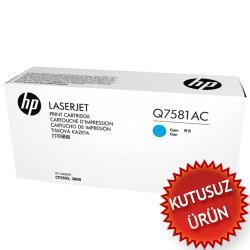 HP - HP Q7581AC Mavi Orjinal Toner - Laserjet 3600 / 3800 (U)