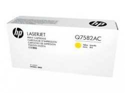 HP - HP Q7582AC SARI ORJİNAL TONER - Laserjet 3600 / 3800 / CP3505