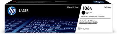 HP - HP W1106A (106A) Siyah Orjinal Toner Laserjet MFP 137Fnw, M135A, M135W, M107A, M107W