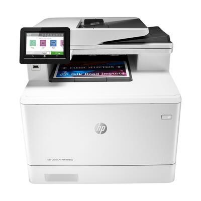 HP - HP W1A80A Colour LaserJet Pro MFP M479fdw Çok Fonksiyonlu Lazer Yazıcı Wi-Fi + Tarayıcı + Faks + Fotokopi