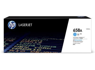 HP - HP W2001A (658A) Mavi Orjinal Toner Laserjet Enterprise M751