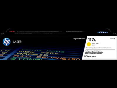 HP - HP W2072A (117A) Sarı Orjinal Toner Laserjet MFP 178nw, 179nw, 150a, 150nw