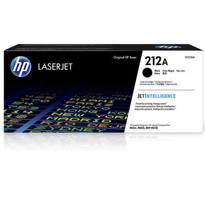 HP - HP W2120A (212A) Siyah Orjinal Toner Yüksek Kapasiteli - M554/ M555/ M578