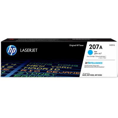 HP - HP W2211A (207A) Mavi Orjinal Toner - M255dw / M282nw / M283fdn