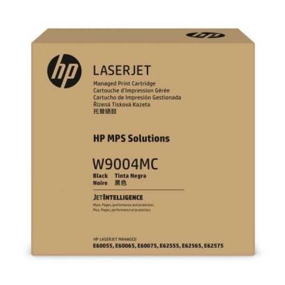 HP - HP W9004MC Siyah Managed Orjinal Toner Laserjet Managed E60055, E60075, E62575