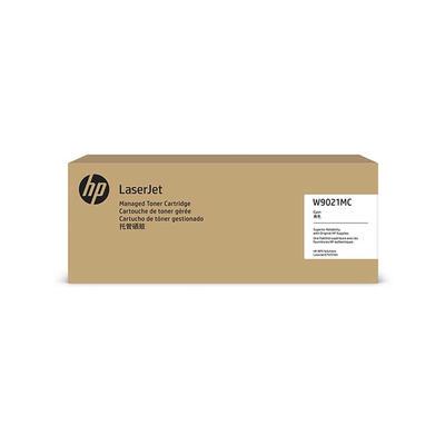 HP - HP W9021MC Mavi Orjinal Toner Laserjet Managed E75245