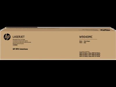 HP - HP W9040MC Siyah Orjinal Toner Laserjet Managed E77822, E77825, E77830