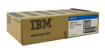 IBM - IBM 75P5427 Mavi Orjinal Toner InfoPrint Color 1334