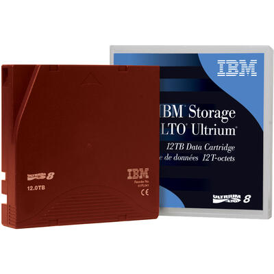 IBM - IBM Storage LTO Ultrium 01PL041 LTO-8 Data Kartuş