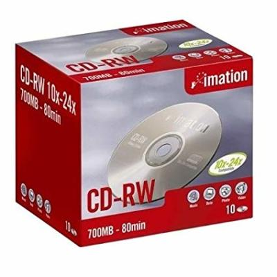 IMATION - Imation CD-RW 700 MB 4-12X 10lu Paket