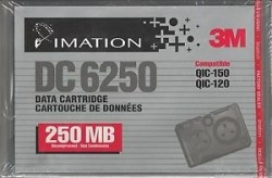 SONY - IMATION DC-6250 46157 250Mb/500Mb 311m 5,25 DATA KARTUŞU