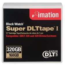 SONY - IMATION SDLT-1 DLT TAPE 1 160 GB / 320 GB DATA KARTUŞU