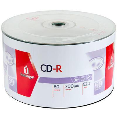 IOMEGA - Iomega ICSP50 52X 700 MB CD-R (50'li Paket)
