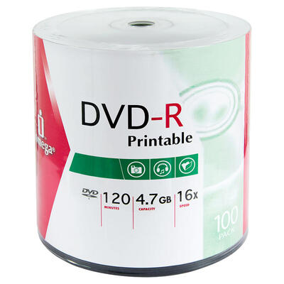 IOMEGA - Iomega IDSP100PR 16X 4.7 GB DVD-R (100'lü Paket)