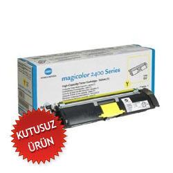KONICA MINOLTA - Konica Minolta 1710589 001 Sarı Renkli Lazer Toner - MagiColor 2400-2500 Yazıcı Toneri (U)