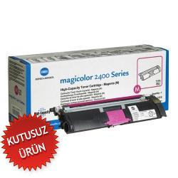 KONICA MINOLTA - Konica Minolta 1710589 002 Kırmızı Renkli Lazer Toner - MagiColor 2400-2500 Yazıcı Toneri (U)