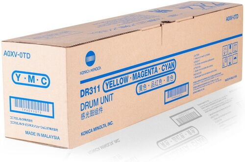 Konica Minolta A0XV-0TD Renkli Drum Ünitesi - C220 / C280 / C360
