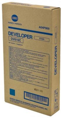 KONICA MINOLTA - Konica Minolta DV-610C (A04P900) Orjinal Mavi Developer