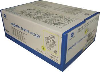 KONICA MINOLTA - Konica Minolta MagiColor 5440 / 5450 Sarı Orjinal Toner (1710604-002) 12,000 Sayfa