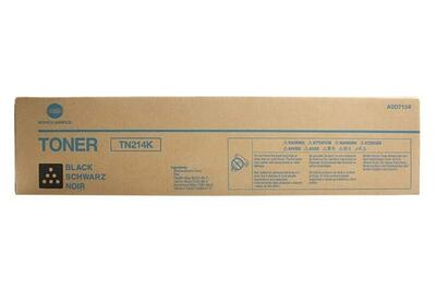 KONICA MINOLTA - Konica Minolta TN-214K Siyah Orjinal Toner Bizhub C200 / C203 / C253