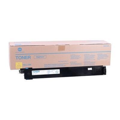 KONICA MINOLTA - Konica Minolta TN-214Y Sarı Orjinal Toner - Bizhub C200 / C203 / C253