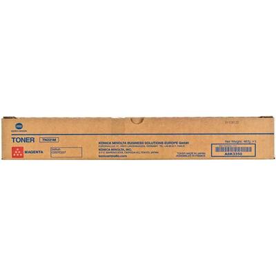 KONICA MINOLTA - Konica Minolta TN-221M Kırmızı Orjinal Toner Bizhub C287/C227