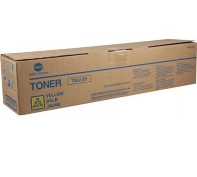 KONICA MINOLTA - Konica Minolta TN-312Y Sarı Orjinal Toner - BizHub C300 / C352