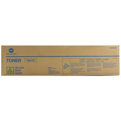 KONICA MINOLTA - Konica Minolta TN-613Y Sarı Orjinal Fotokopi Toneri Bizhub C452, C552, C652