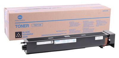 KONICA MINOLTA - Konica Minolta TN-711BK Siyah Orjinal Toner (A3VU150) Ineo +654, Ineo +754