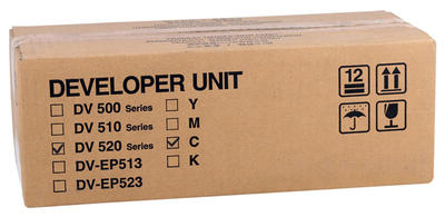 KYOCERA - Kyocera Mita DV-520 Orjinal Mavi Developer Ünitesi
