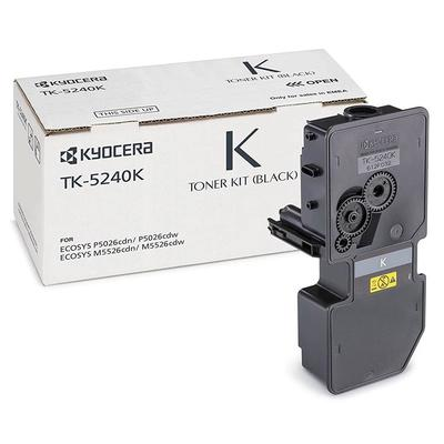 KYOCERA - Kyocera TK-5240K Siyah Orjinal Toner Ecosys M5526, P5026
