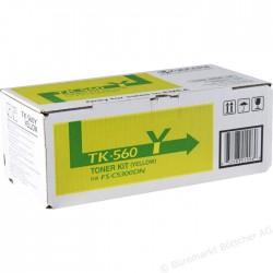 KYOCERA - KYOCERA TK-560Y SARI ORJİNAL TONER- FS-C5300 / FS-C5350 / P6030