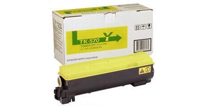 KYOCERA - Kyocera TK-570Y Sarı Orjinal Toner FS-C5400DN, ECOSYS P7035cdn