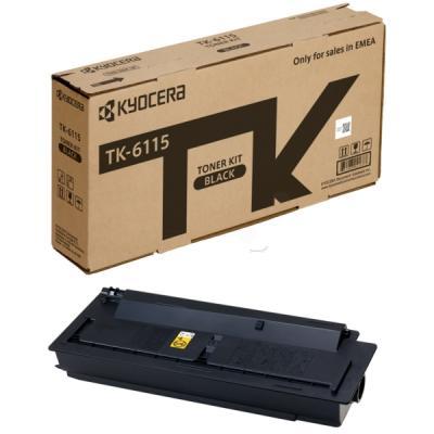 KYOCERA - Kyocera TK-6115 Siyah Orjinal Toner Ecosys M4132idn, M4125idn