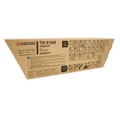 KYOCERA - Kyocera TK-810M Kırmızı Orjinal Toner FS-C8026 Serisi