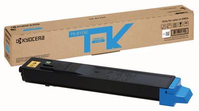 KYOCERA - Kyocera TK-8115C Mavi Orjinal Toner Ecosys M8100, M8124cidn, M8130cidn