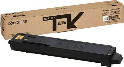 KYOCERA - Kyocera TK-8115K Siyah Orjinal Toner Ecosys M8100, M8124cidn, M8130cidn