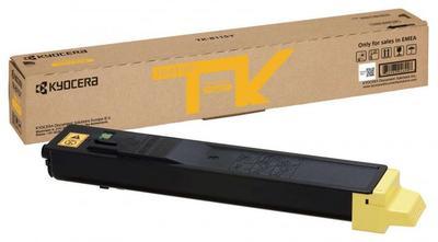 KYOCERA - Kyocera TK-8115Y Sarı Orjinal Toner Ecosys M8100, M8124cidn, M8130cidn