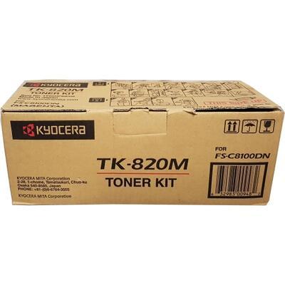 KYOCERA - Kyocera TK-820M Kırmızı Orjinal Toner (1T02HPBEU0) FS-C8100dn