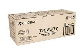KYOCERA - Kyocera TK-820Y Sarı Orjinal Toner (1T02HPAEU0) FS-C8100dn