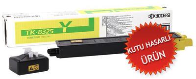 KYOCERA - Kyocera TK-8325Y Sarı Orjinal Toner - TasKalfa 2551ci (C)