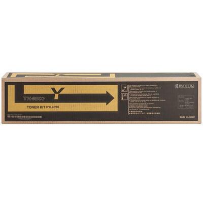 KYOCERA - Kyocera TK-8507Y Sarı Orjinal Toner - TASKalfa 4550ci / 4551ci / 5550ci