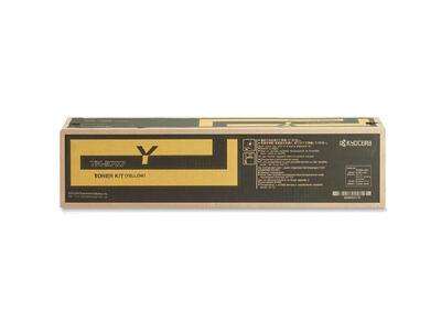 KYOCERA - Kyocera TK-8707Y Sarı Orjinal Toner - TASKalfa 7550ci / 7551ci / 6550ci