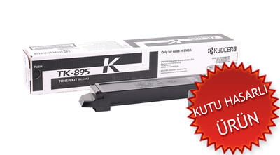 KYOCERA - Kyocera TK-895K Siyah Orjinal Toner - FS-C8020MFP / FS-C8025MFP (C)
