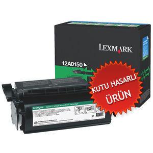 LEXMARK - LEXMARK 12A0150 SİYAH ORJİNAL RETURN TONER - Optra S 1200 / 1650 / 2450(C)
