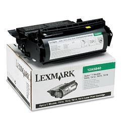 LEXMARK - LEXMARK 12A5840 T610 / T612 / T614 / T616 ORJİNAL SİYAH TONER