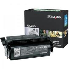 LEXMARK - LEXMARK 12A5849 YÜKSEK KAPASİTE SİYAH TONER - LEXMARK T610/ T612/ T614/ T616 TONERİ