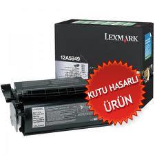 LEXMARK - LEXMARK 12A5849 YÜKSEK KAPASİTE SİYAH TONER - LEXMARK T610/ T612/ T614/ T616 TONERİ(C)