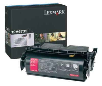 LEXMARK - LEXMARK 12A6735 ORJİNAL TONER Yüksek Kapasite T520-T522-X520-X522