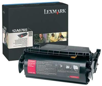 LEXMARK - LEXMARK 12A6765 SİYAH ORJİNAL TONER T620, T622